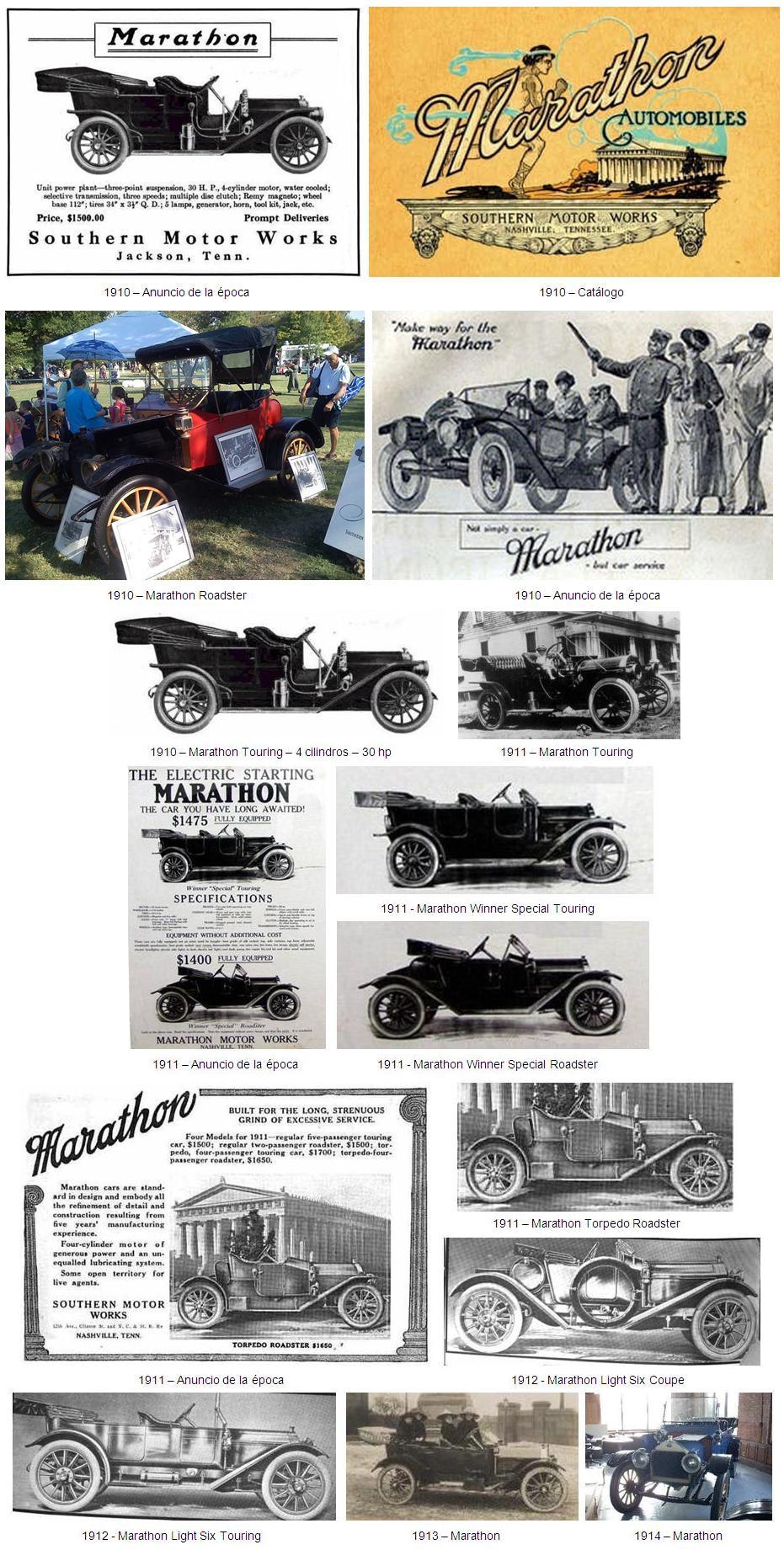 MARATHON (Marathon Motor Works) HISTORIA