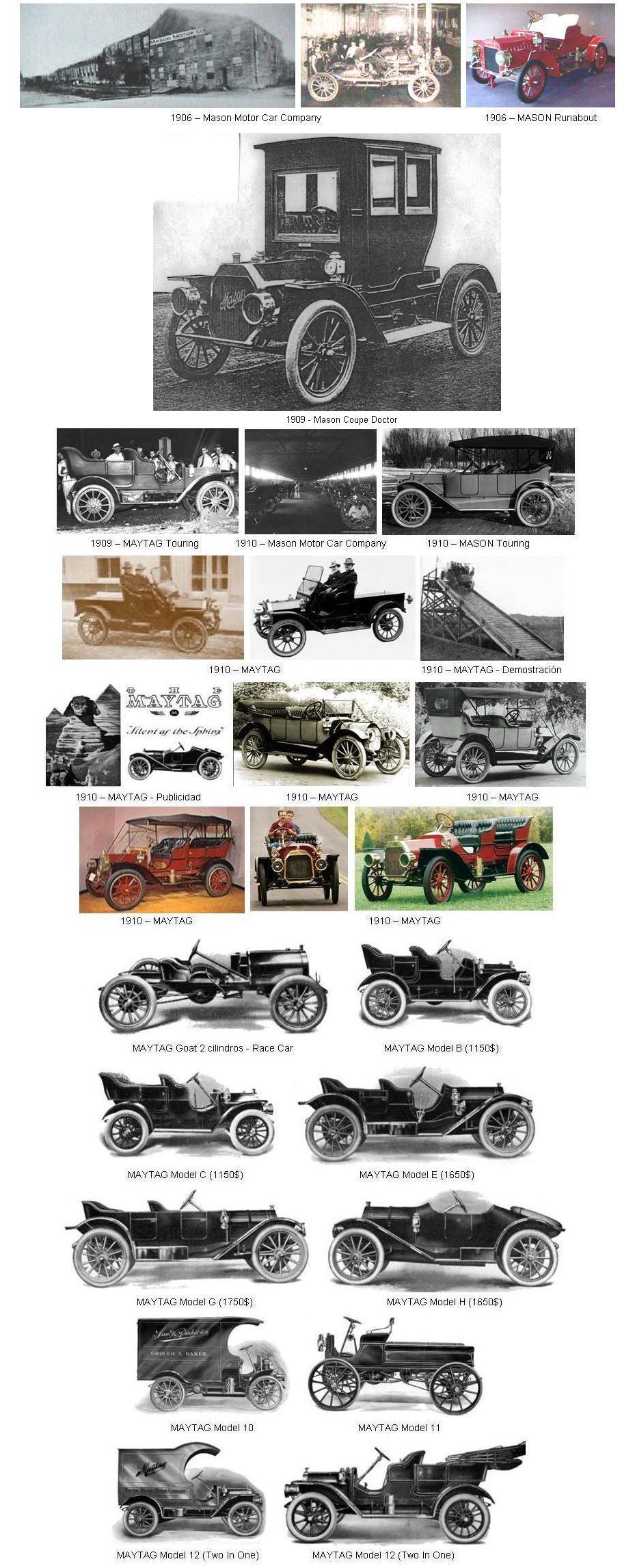 Mason historia for Motores y vehiculos nj