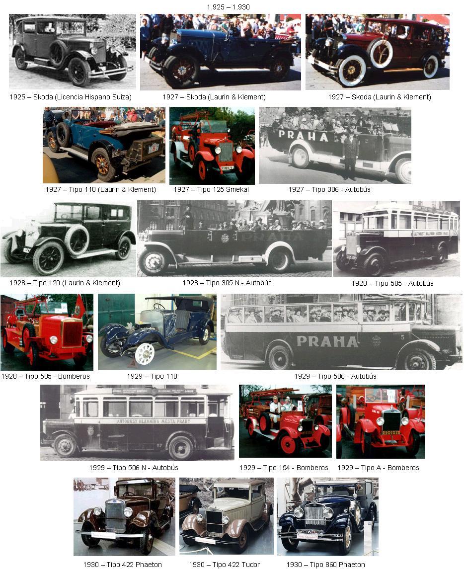 Historia de Skoda. SKODA-01-(1925-1930)